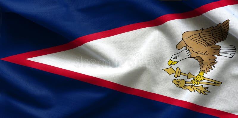 Indicateur des Samoa américaines image stock