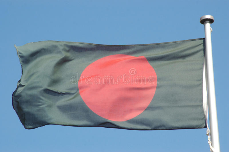 Indicateur du Bangladesh photographie stock