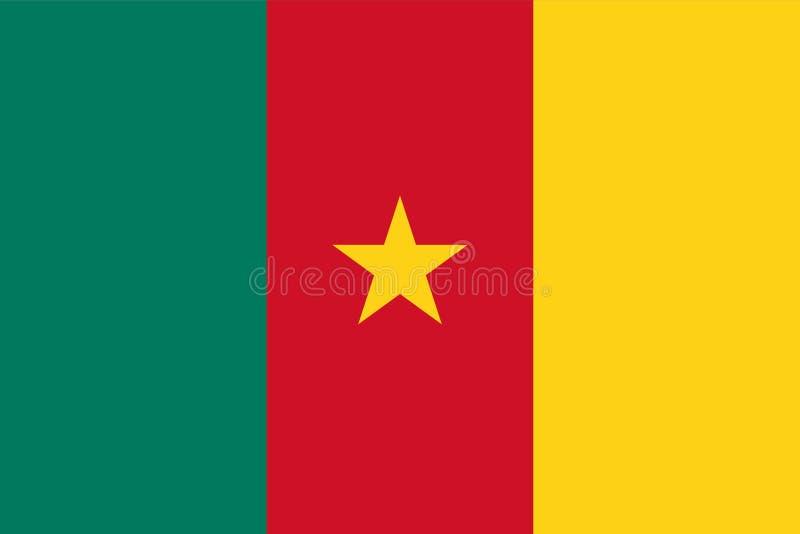 Indicateur du Cameroun illustration libre de droits