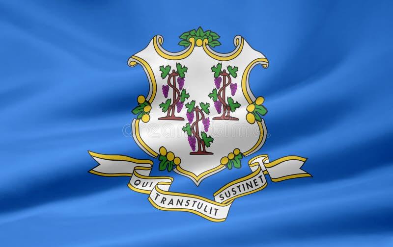 Indicateur du Connecticut illustration de vecteur