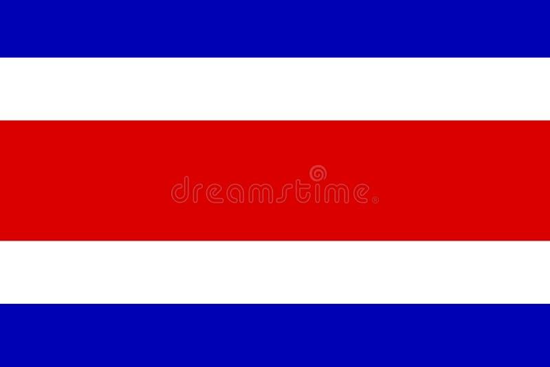 Indicateur du Costa Rica illustration libre de droits