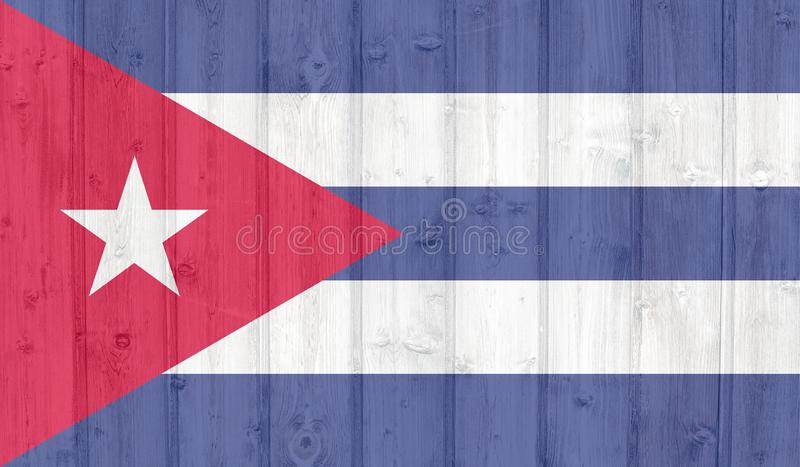 Indicateur du Cuba illustration stock