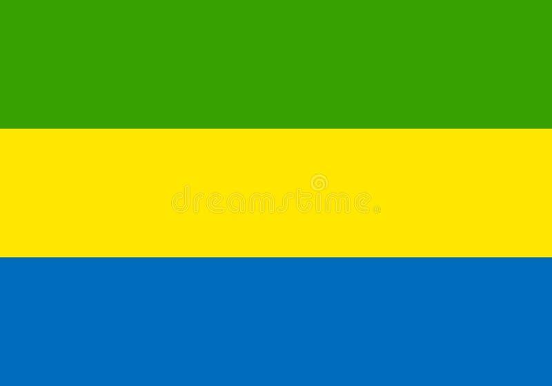 Indicateur du Gabon illustration libre de droits