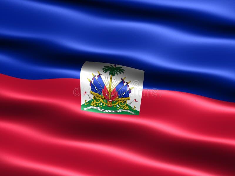 Indicateur du Haïti illustration de vecteur