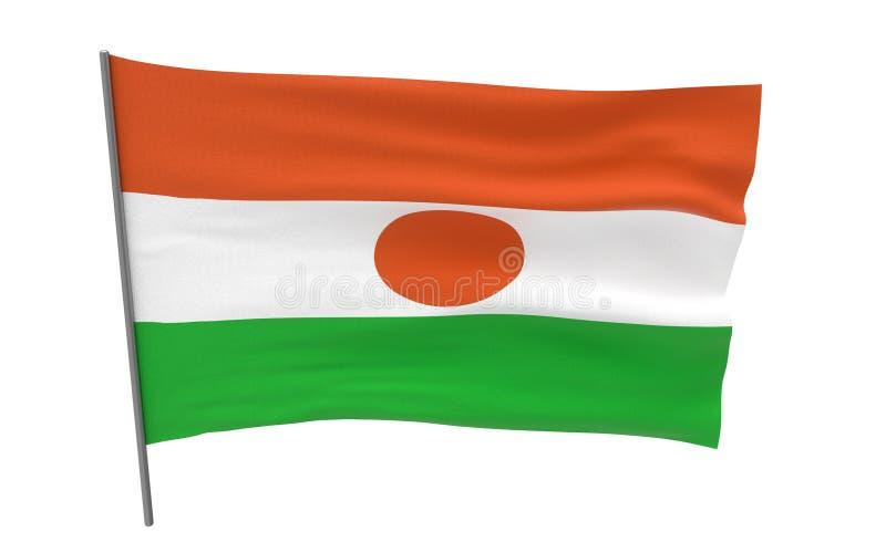 Indicateur du Niger illustration de vecteur