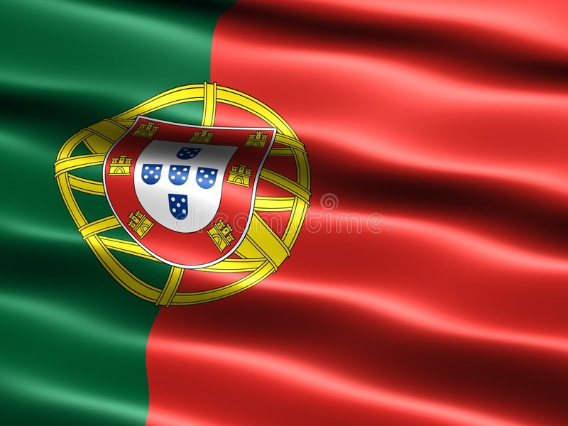 Indicateur du Portugal illustration stock