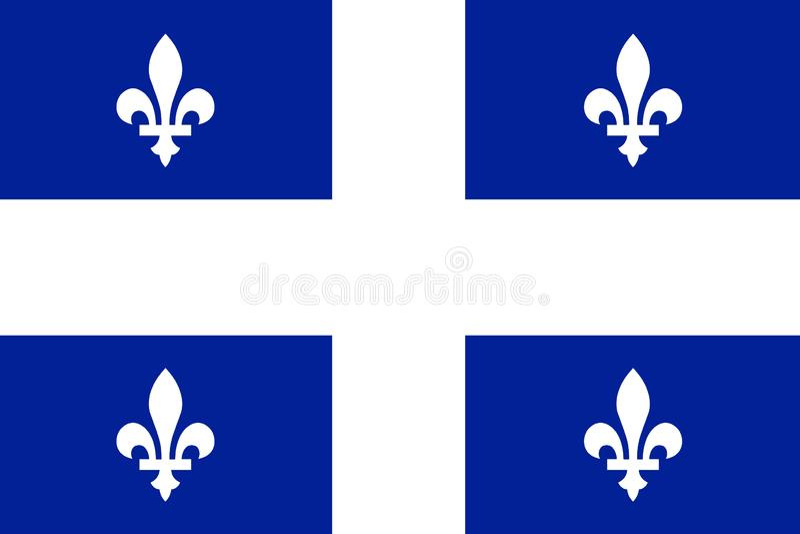 Indicateur du Québec illustration stock