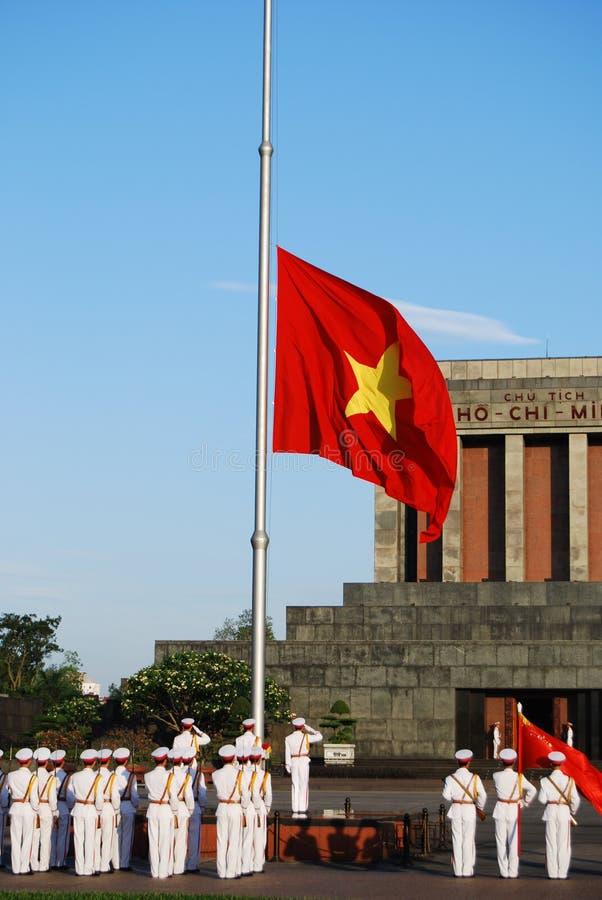 Indicateur du Vietnam image libre de droits
