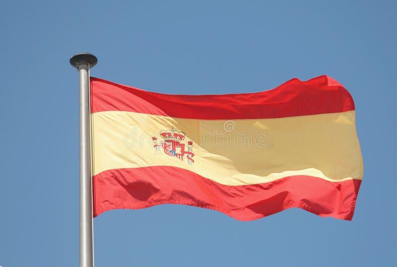 Indicateur espagnol photo stock