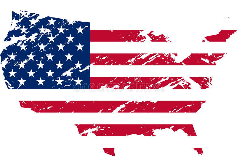indicateur Etats-Unis illustration libre de droits