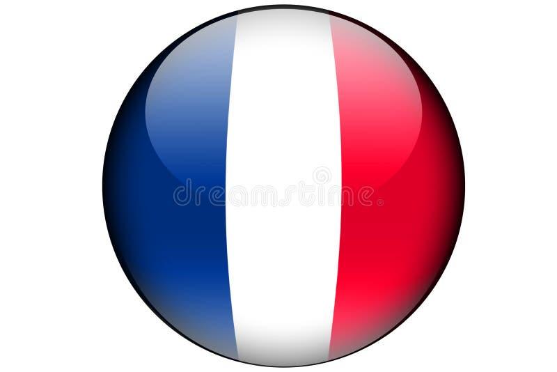 Indicateur français illustration de vecteur
