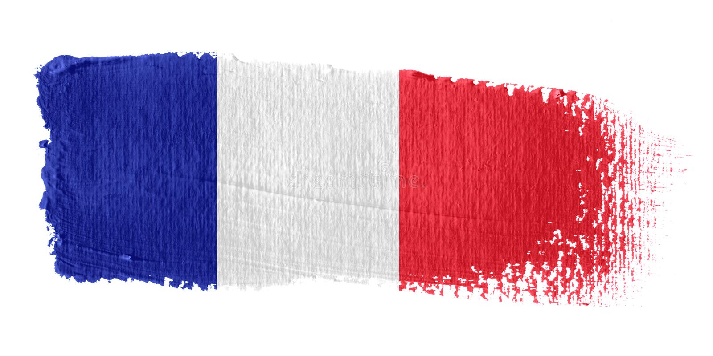 Indicateur France de traçage illustration stock