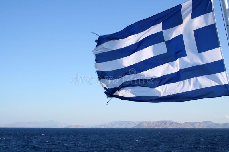 indicateur grec photo stock