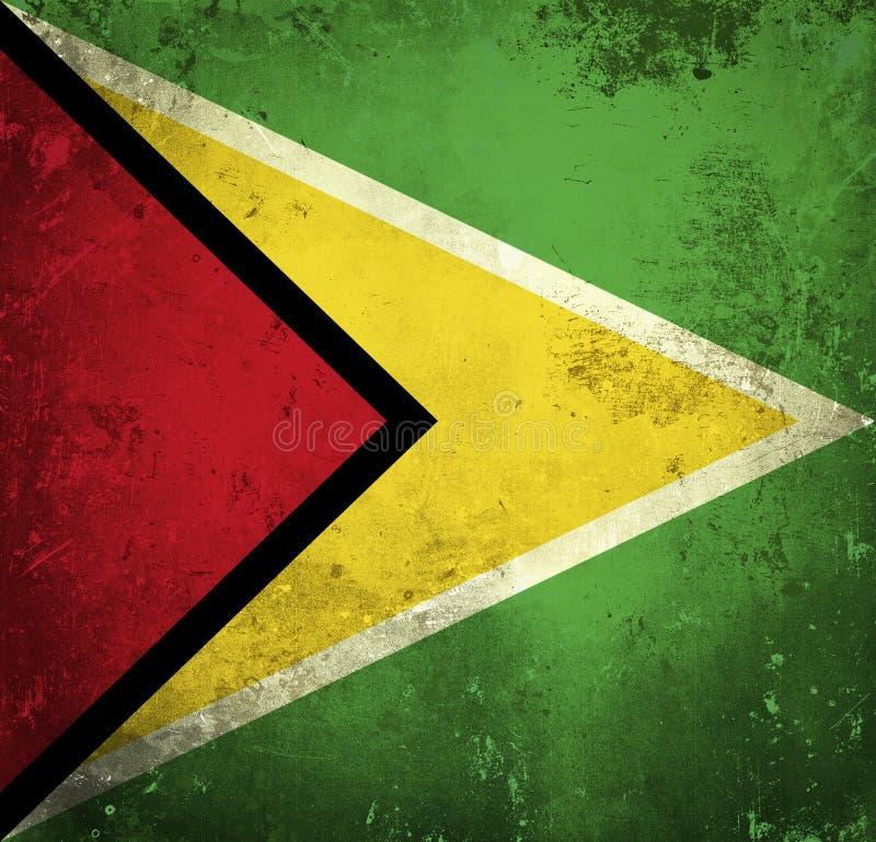 Indicateur grunge de la Guyane illustration libre de droits