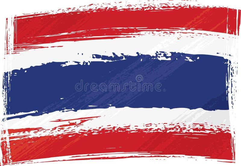 Indicateur grunge de la Thaïlande illustration de vecteur