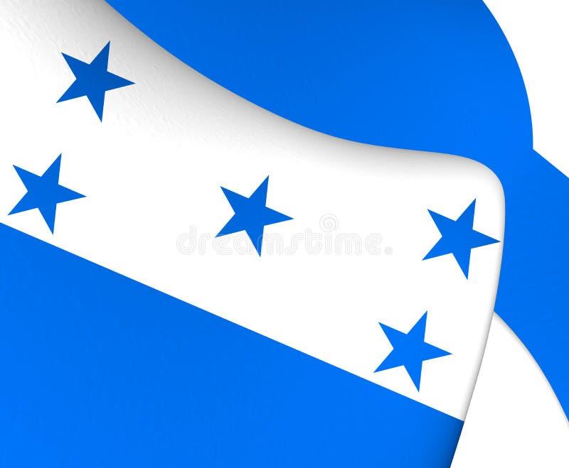 indicateur Honduras illustration libre de droits