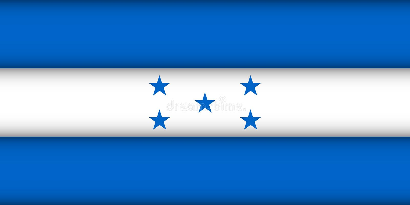 indicateur Honduras illustration libre de droits
