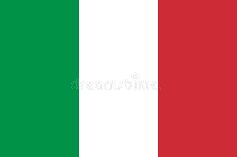 indicateur Italie Indicateur italien illustration libre de droits