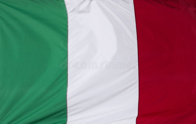 Indicateur italien illustration stock