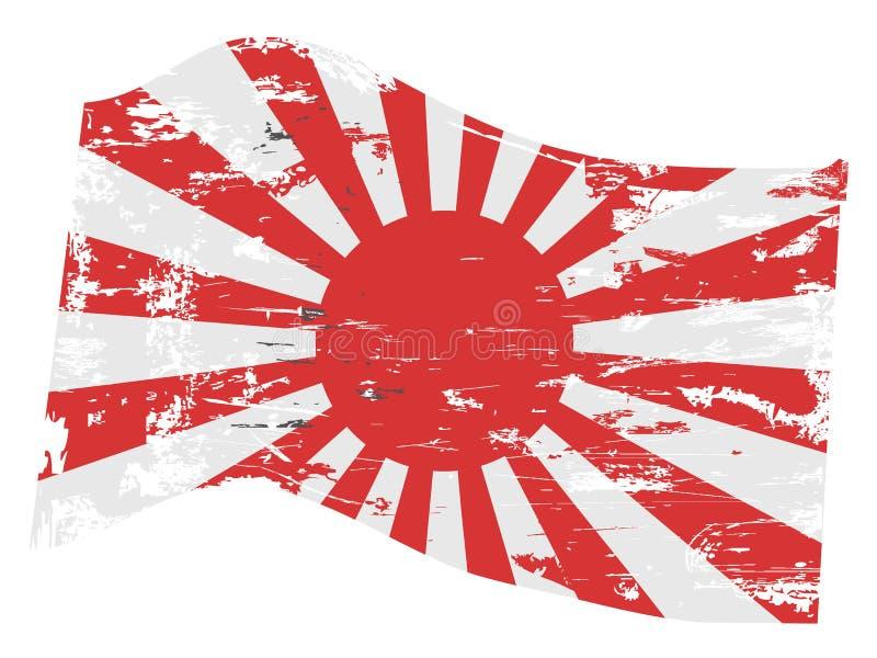 Indicateur japonais grunge illustration libre de droits