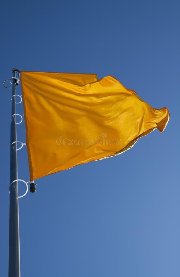 Indicateur jaune photos stock