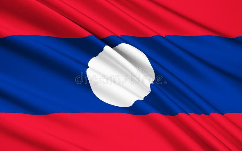 indicateur Laos image stock