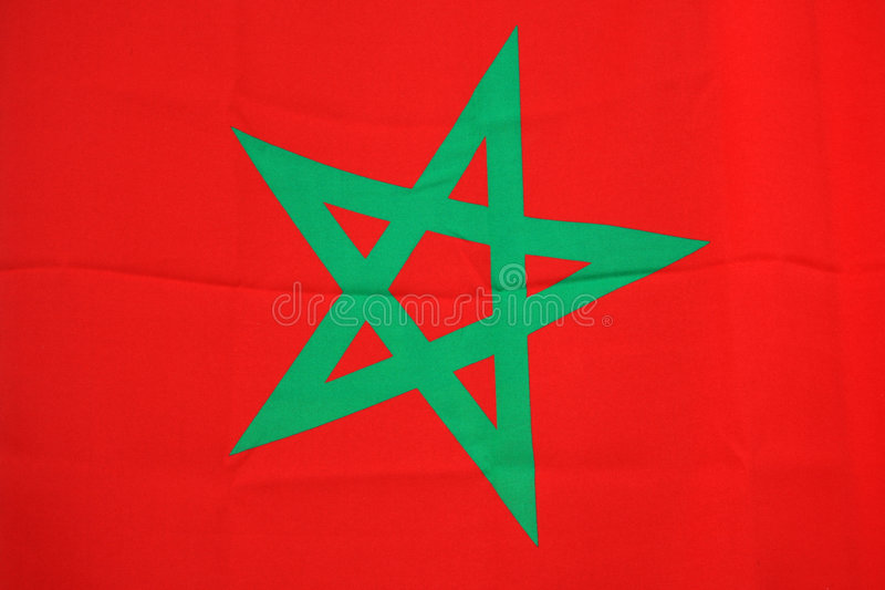 indicateur Maroc image stock