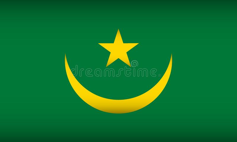 indicateur Mauritanie illustration stock