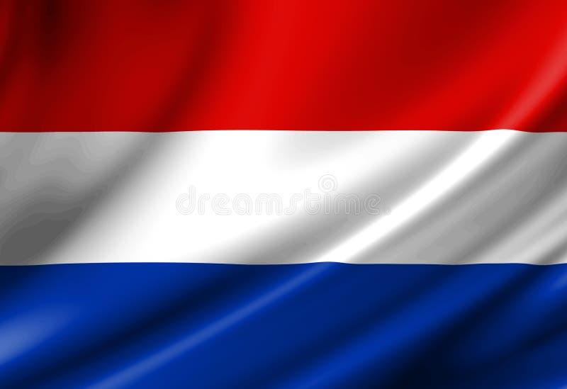 Indicateur néerlandais illustration stock