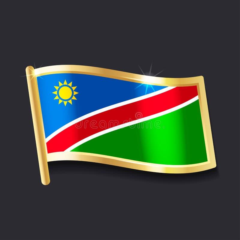indicateur Namibie illustration de vecteur