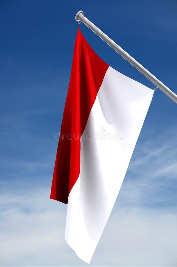 Indicateur national de l'Indonésie illustration libre de droits