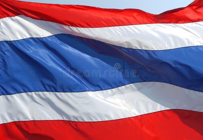 Indicateur national thaï photographie stock libre de droits