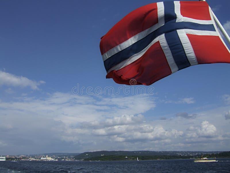 Indicateur norvégien image libre de droits