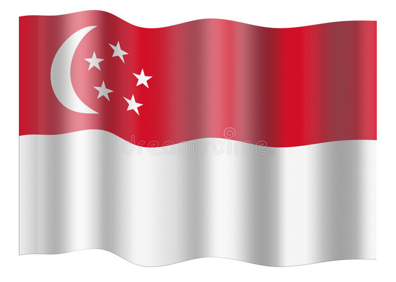 indicateur Singapour illustration de vecteur