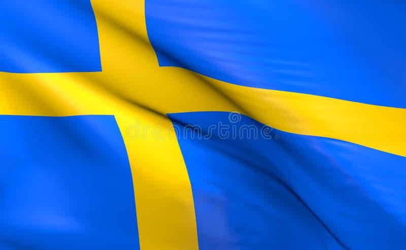 indicateur Suède illustration libre de droits