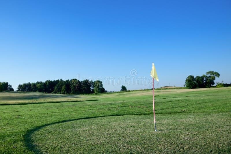 Indicateur Sur Le Terrain De Golf. Photo stock