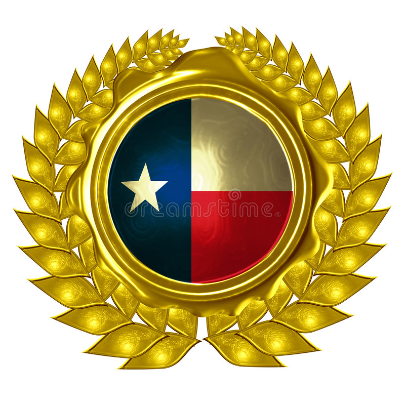 Indicateur texan illustration stock