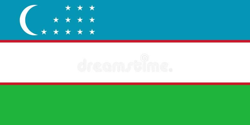 indicateur uzbekistan illustration stock