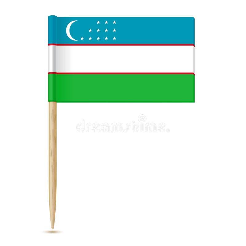 indicateur uzbekistan illustration libre de droits
