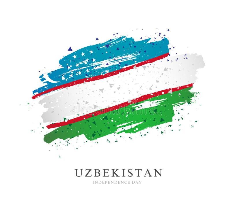 indicateur uzbekistan Illustration de vecteur sur le fond blanc illustration de vecteur