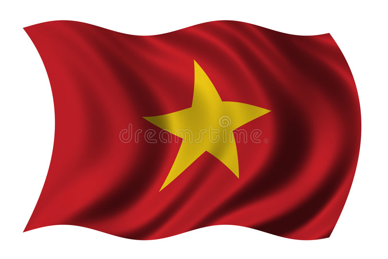indicateur Vietnam illustration stock