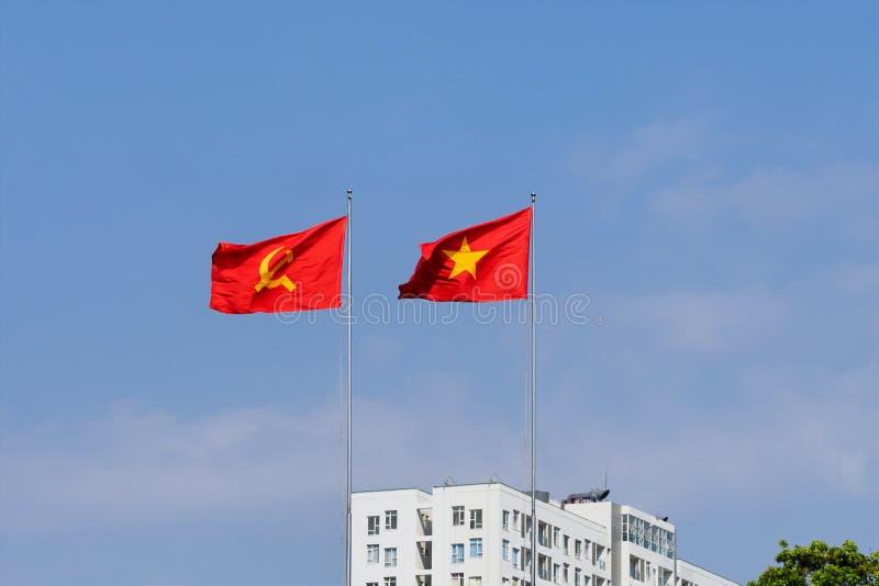 Download Indicateur vietnamien photo stock. Image du symbole, nationalisme - 56477346