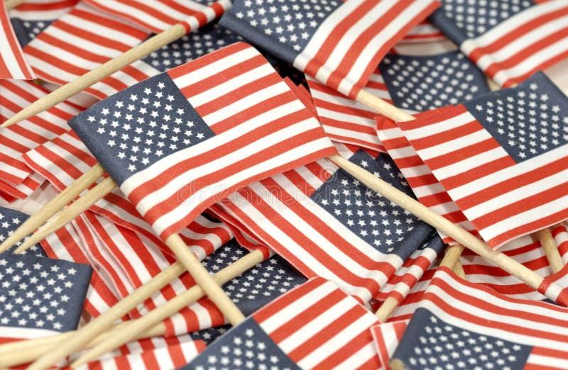 Indicateurs américains image stock
