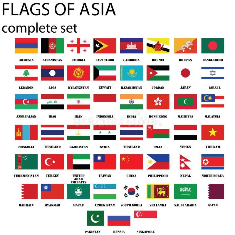 Indicateurs asiatiques illustration libre de droits