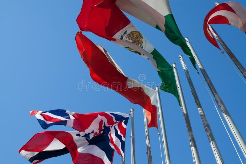Indicateurs internationaux photo libre de droits