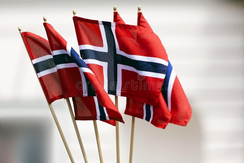 Indicateurs norvégiens photo libre de droits