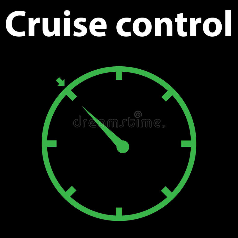Indicator Lights On The Car Dashboard, Cruise Control Icon ...
