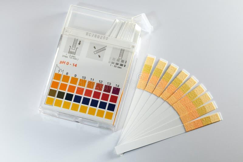 Indicatore di pH fotografia stock libera da diritti