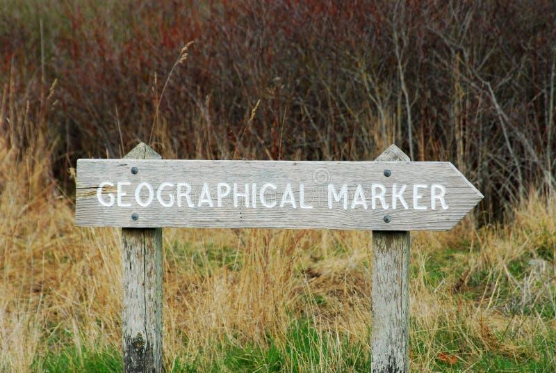 Indicatore geografico immagini stock libere da diritti