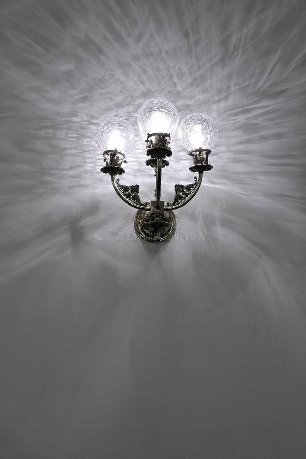 Indicatore luminoso antico ripristinato fotografia stock